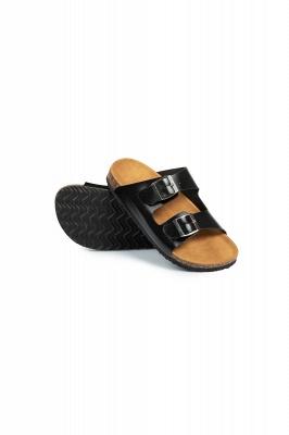 Unisex EVA Sandals Adjustable Double Buckle Flat Sandals for Women Men  Non-Slip_7