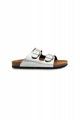 Unisex EVA Sandals Adjustable Double Buckle Flat Sandals for Women Men  Non-Slip_10