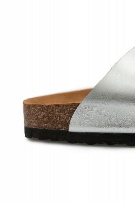 Unisex EVA Sandals Adjustable Double Buckle Flat Sandals for Women Men  Non-Slip_12