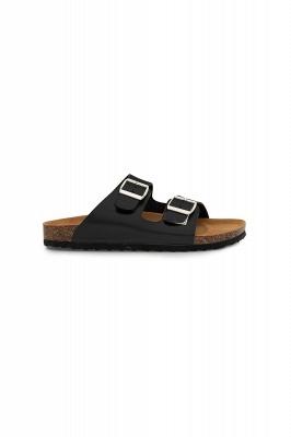 Unisex EVA Sandals Adjustable Double Buckle Flat Sandals for Women Men  Non-Slip_8