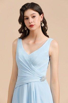 Stylish Sleeveless Aline Chiffon Bridesmaid Dress Formal Event Dress_8
