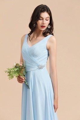 Stylish Sleeveless Aline Chiffon Bridesmaid Dress Formal Event Dress_7
