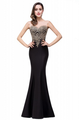 EMMY | Mermaid Floor-Length Sheer Prom Dresses with Rhinestone Appliques_4