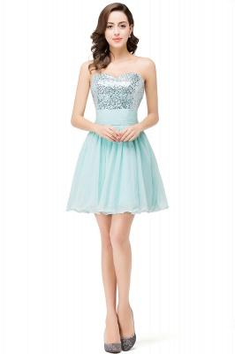 Sexy Sequins Lace-up Homecoming Dress UK Short Chiffon_1