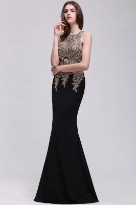 BROOKLYNN | Mermaid Black Prom Dresses with Lace Appliques_7
