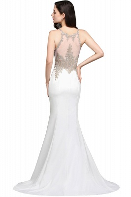 AVERIE | Mermaid Scoop Chiffon Elegant Prom Dress With Appliques_4