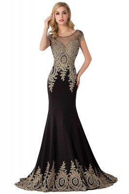 ABIGAIL | Mermaid Court Train Chiffon Evening Dress with Appliques_8