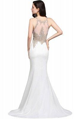 AVERIE | Mermaid Scoop Chiffon Elegant Prom Dress With Appliques_5