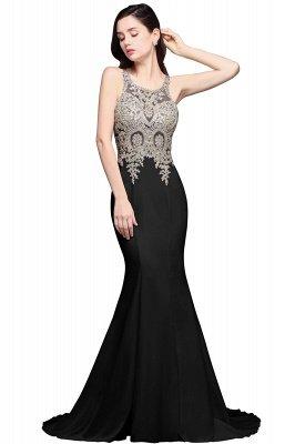 AVERIE | Mermaid Scoop Chiffon Elegant Prom Dress With Appliques_3