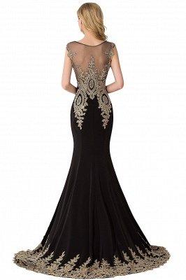 ABIGAIL | Mermaid Court Train Chiffon Evening Dress with Appliques_7