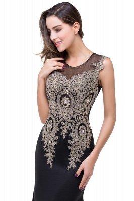 ADDISYN | Mermaid Floor-length Chiffon Evening Dress with Appliques_15