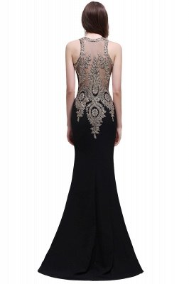BROOKLYNN | Mermaid Black Prom Dresses with Lace Appliques_6