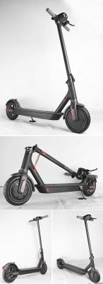 Germany Stock Manke Electric Scooter 250w Black Foldable Lightweight Adult Electric Bike_12