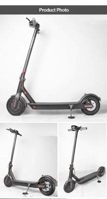 Germany Stock Manke Electric Scooter 250w Black Foldable Lightweight Adult Electric Bike_13