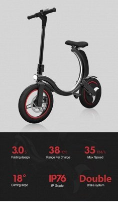 Germany Stock Manke Electric Seated Electric Scooter Black/Gray 38km/h Eletric Scooter Bike for Adults Teens_3