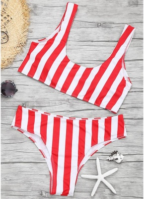 Women Color Block Sexy Bikini Set Push Up Padded Swimsuit Swimwear Bathing Suit_1
