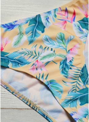 Printed Padded Hollow Out Monokini Bathing Suit_7