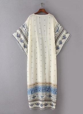 Women Chiffon Kimono Cardigan Beach Robe Blouse Top_4