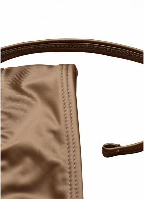 Backless Bandage Padded Wireless Sexy Bikini Set_8