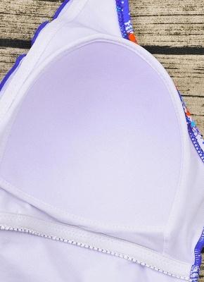 Women Plus Size One Piece Swimsuit Open Back  Monokini_10