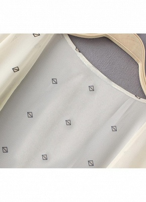 Summer Chiffon Printed Women's Long Loose Thin Kimono_5