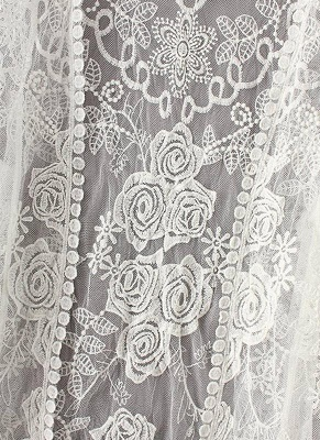 Women Vintage Lace Crochet Beach Cardigan_7