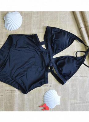 Halter Swimsuit Backless Beach Bathing Suit Monokini Biquini_5