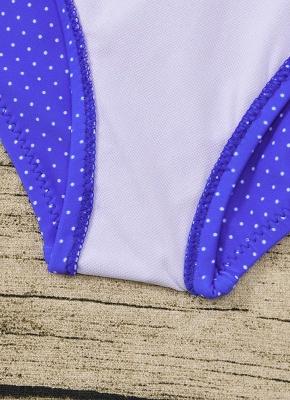 Women Plus Size One Piece Swimsuit Open Back  Monokini_9