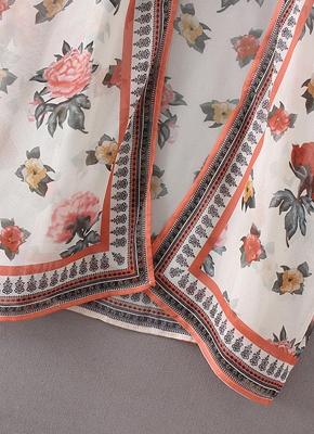 Women Chiffon Kimono Cardigan Sexy Bikini Cover Ups Flower Print Boho Long Beachwear_8
