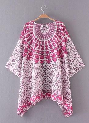 Women Chiffon Beach Kimono_4
