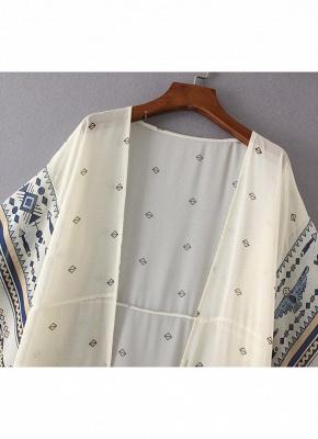 Women Chiffon Kimono Cardigan Beach Robe Blouse Top_5