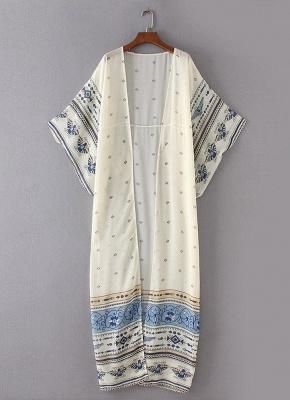 Women Chiffon Kimono Cardigan Beach Robe Blouse Top_3