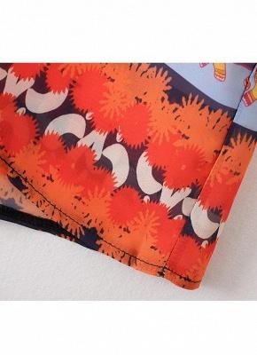 Summer Cardigan Elephant Print Boho Loose Women's Kimono_9