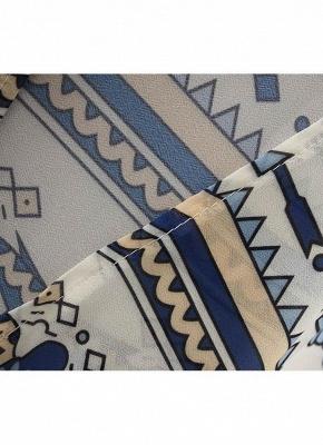 Summer Chiffon Printed Women's Long Loose Thin Kimono_7