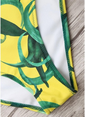 Women Push Up Swimsuit Backless Swimwear One Piece Bodycon Beach Bathing Suit_7