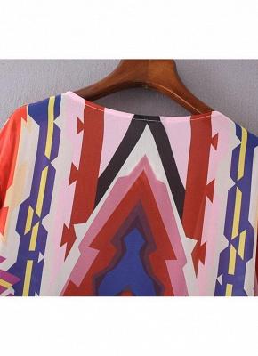 Women Casual Hippie Kimono Chiffon Blouse_6
