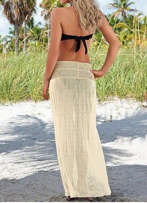 size  Women Crochet Hollow out Meshy Beachwear Boho Sexy Bikini_4