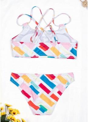 Women Print Sexy Bikini Set Spaghetti Strap Push Up Padded Swimsuit Swimwear Bathing Suit_3