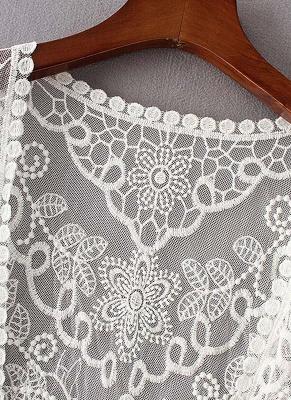 Women Vintage Lace Crochet Beach Cardigan_6