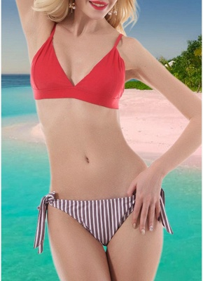 Women Push Up Sexy Bikini Set Beach_1