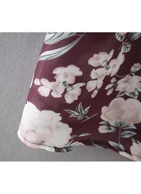 Women Long Beach Cover Up Chiffon Kimono_8