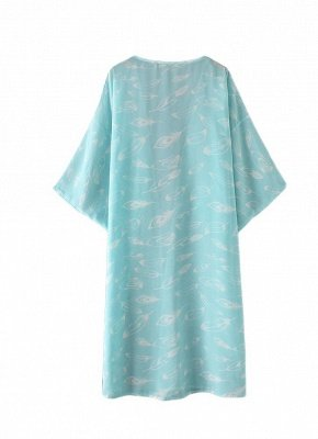 Women Kimono Beach Cover Up Outerwear_5