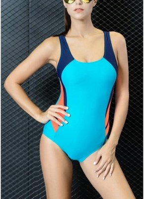Women Professional Sports One Piece Swimsuit  Brazilian Swimwear Beachwear_1