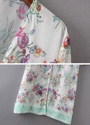 Women Chiffon Loose Cardigan Casual Outerwear_8