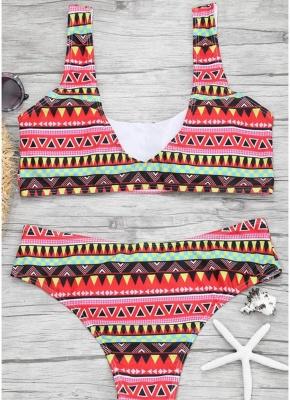Women Color Block Sexy Bikini Set Push Up Padded Swimsuit Swimwear Bathing Suit_4