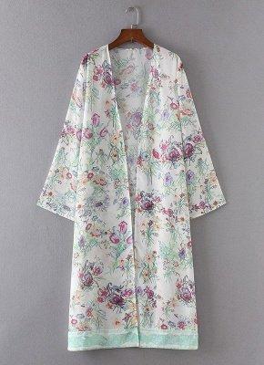 Women Chiffon Loose Cardigan Casual Outerwear_5