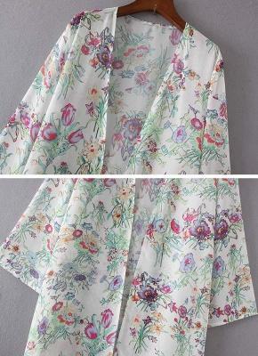 Women Chiffon Loose Cardigan Casual Outerwear_7