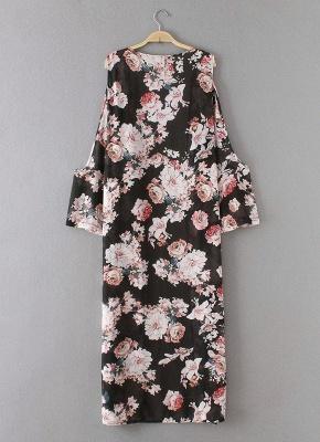 Summer Chiffon Cardigan Sexy Bikini Cover Up Printed Boho Long Women's Kimono_5