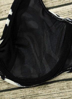 Floral Spaghetti Strap Backless Low Waist Strappy Sexy Bikini Set_10