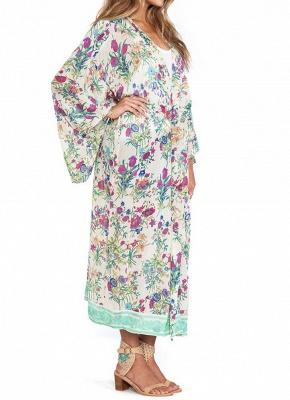 Women Chiffon Loose Cardigan Casual Outerwear_4